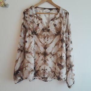 Calvin Klein | long sleeves blouse